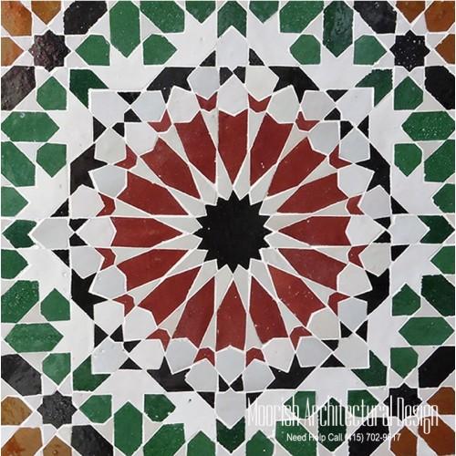Moroccan Tile 126