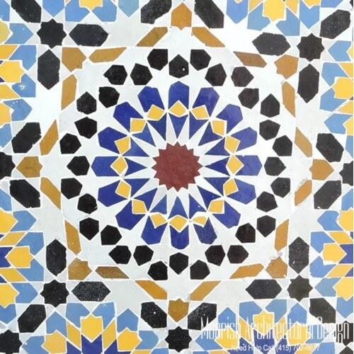 Moroccan Tile 128
