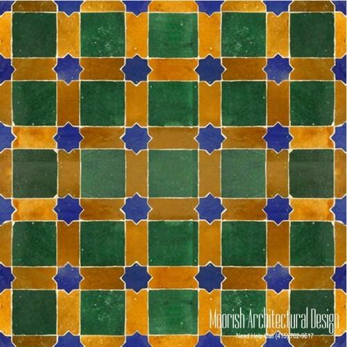 Moroccan Tile 137