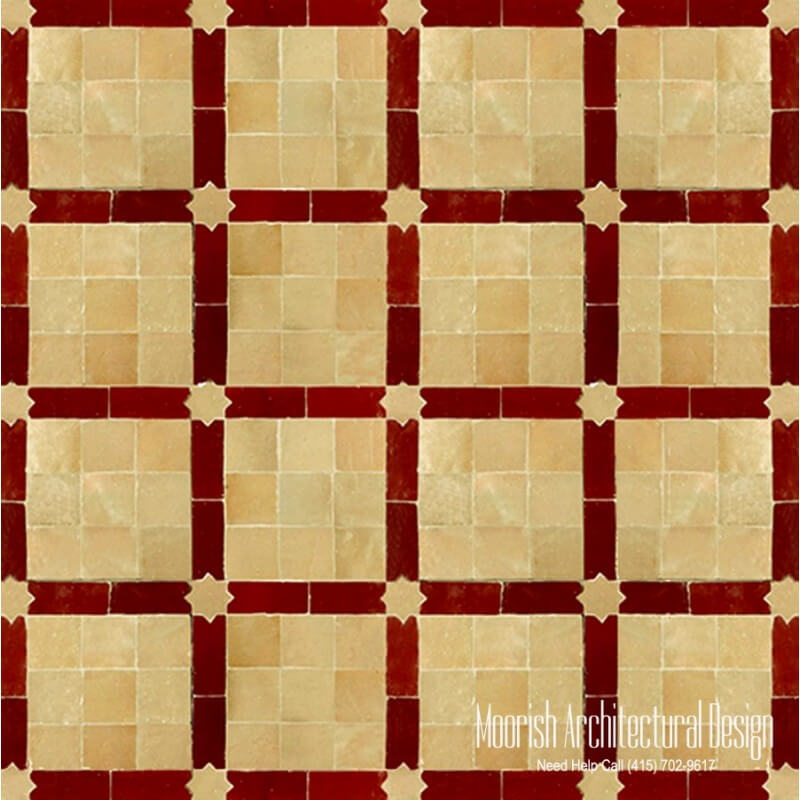 Moroccan Terracotta Mosaic Tile