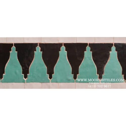 Moroccan Border Tile 54