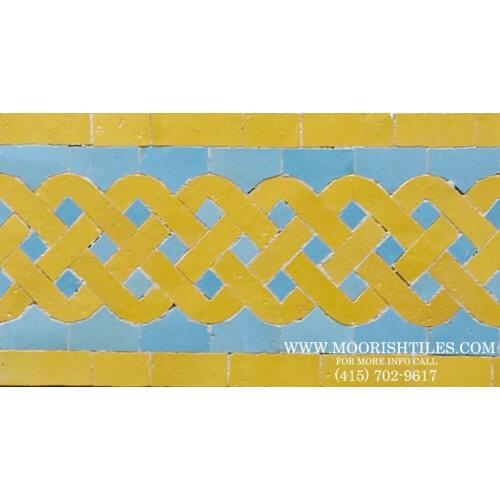 Moroccan Border Tile 69