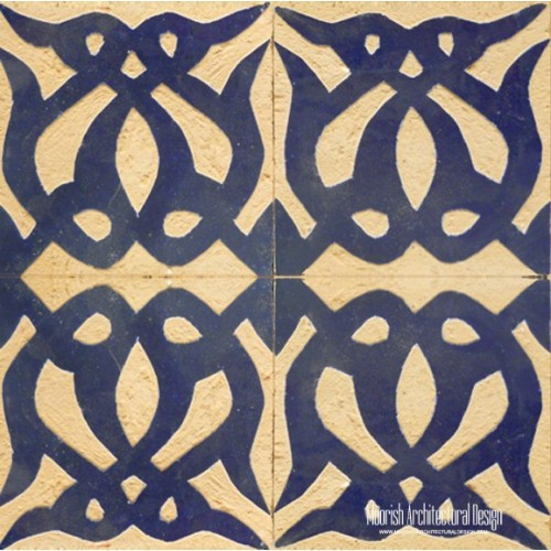 Rustic Moorish Tile 06