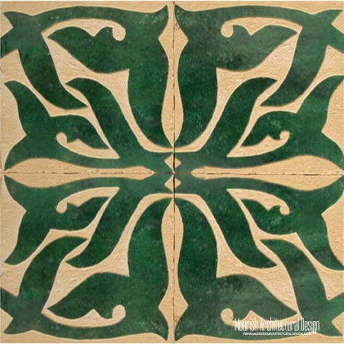 Rustic Moorish Tile 08