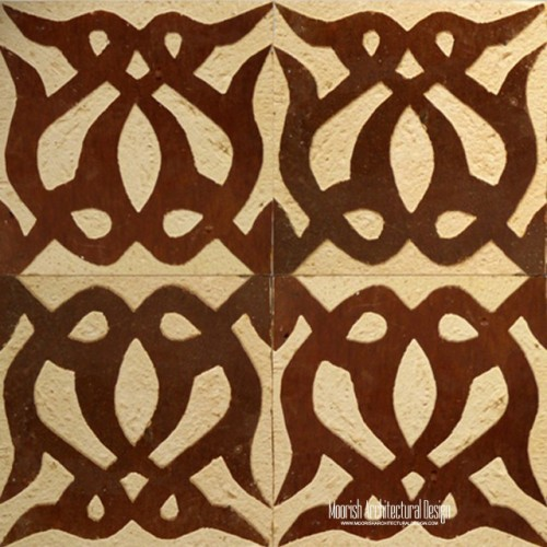 Rustic Moorish Tile 10