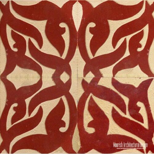 Rustic Moorish Tile 14