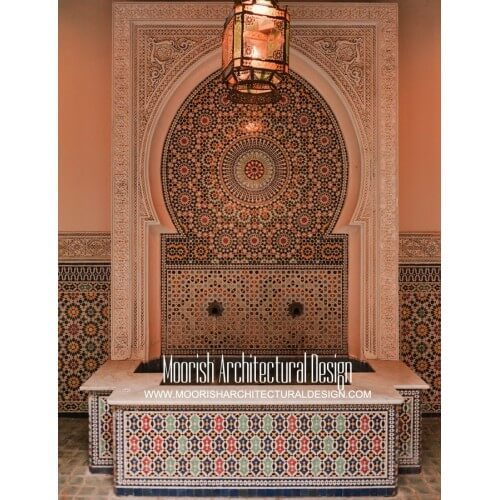 Moroccan Fountain 01