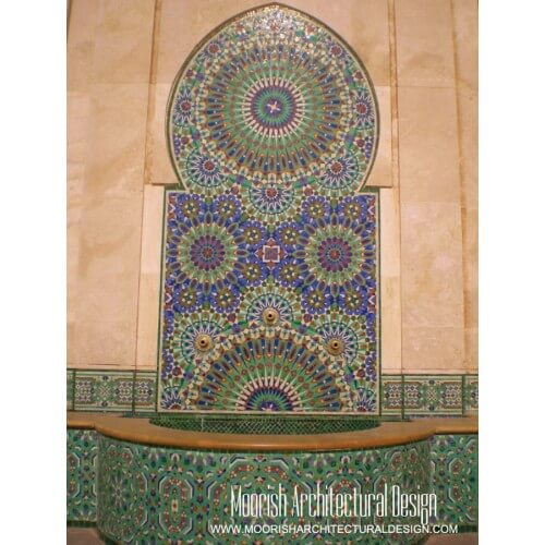 Moroccan Fountain 03