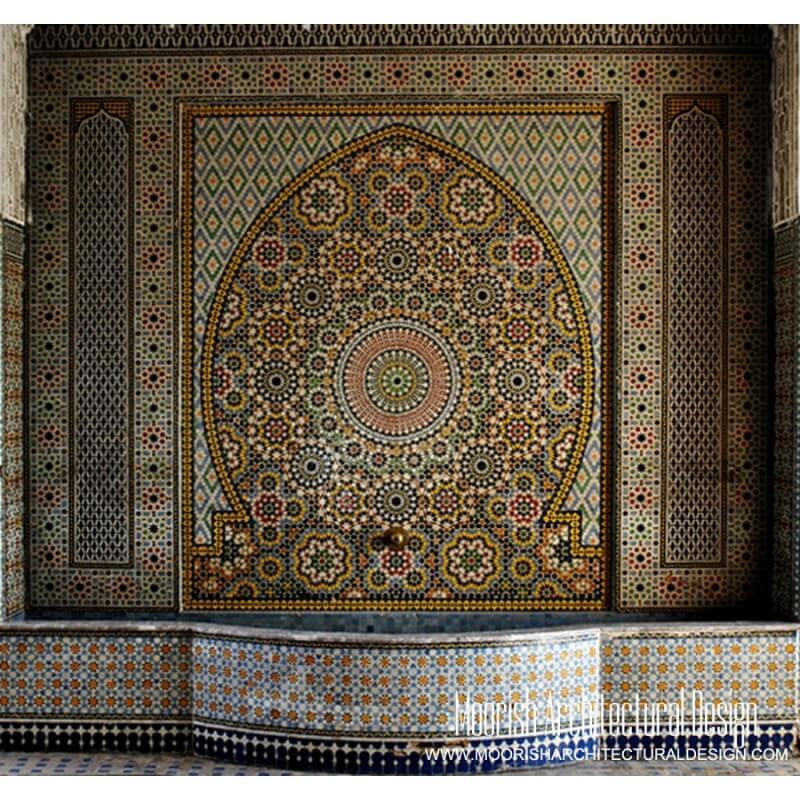 Moorish Wall Fountain