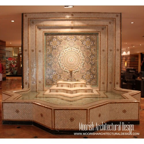 Moroccan Fountain 07