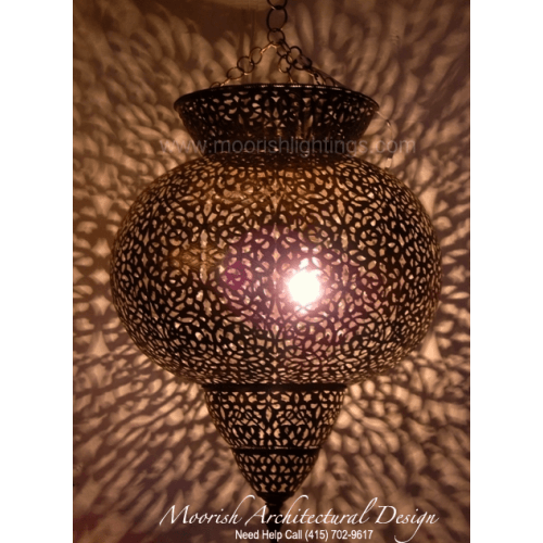 Traditional Moroccan Pendant 11