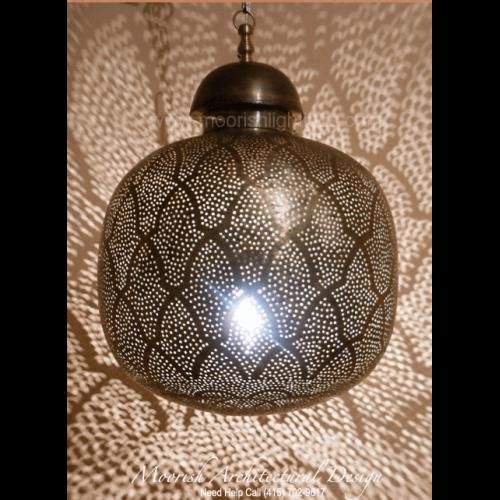 Traditional Moroccan Pendant 12