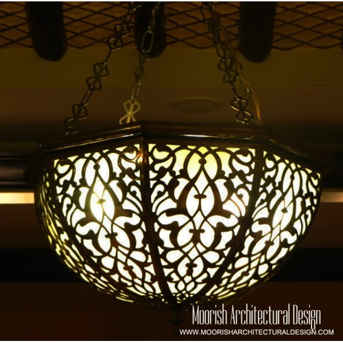 Traditional Moroccan Pendant 25