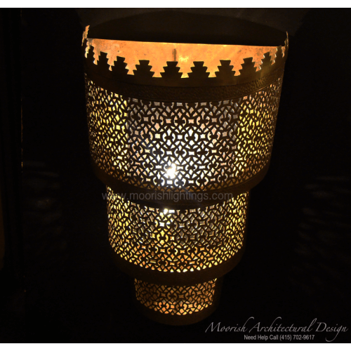 Traditional Moroccan Sconce 08