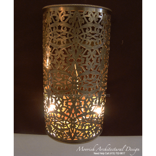 Traditional Moroccan Wall Sconce 14