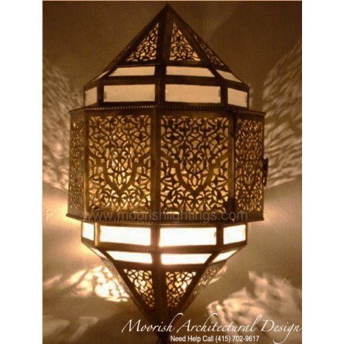Traditional Moroccan Sconce 17