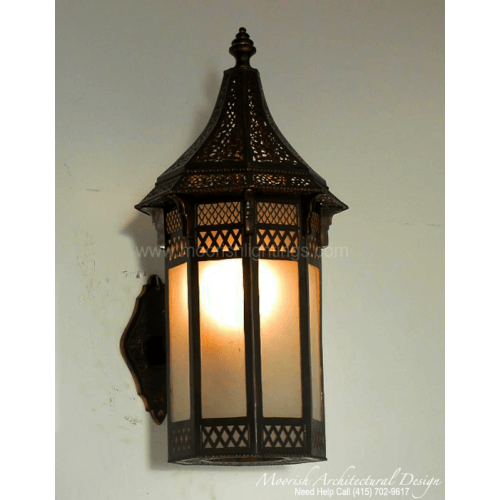 Traditional Moroccan Sconce 19