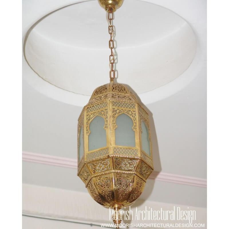Large rustic lantern