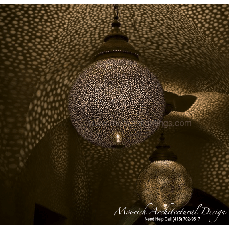 Commercial restaurant lighting