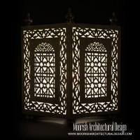 Moorish Outdoor Floor Lamps