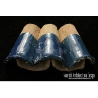 Blue Moroccan Roof Tile