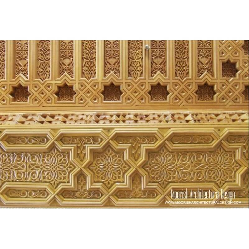 Moroccan Woodworking