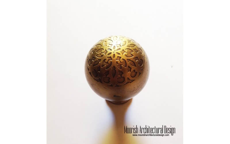 Custom Door Hardware Moroccan Kitchen Cabinet Knobs