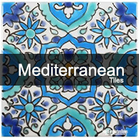 Mediterranean Bathroom Tiles