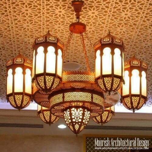 Traditional Moroccan Chandelier 07