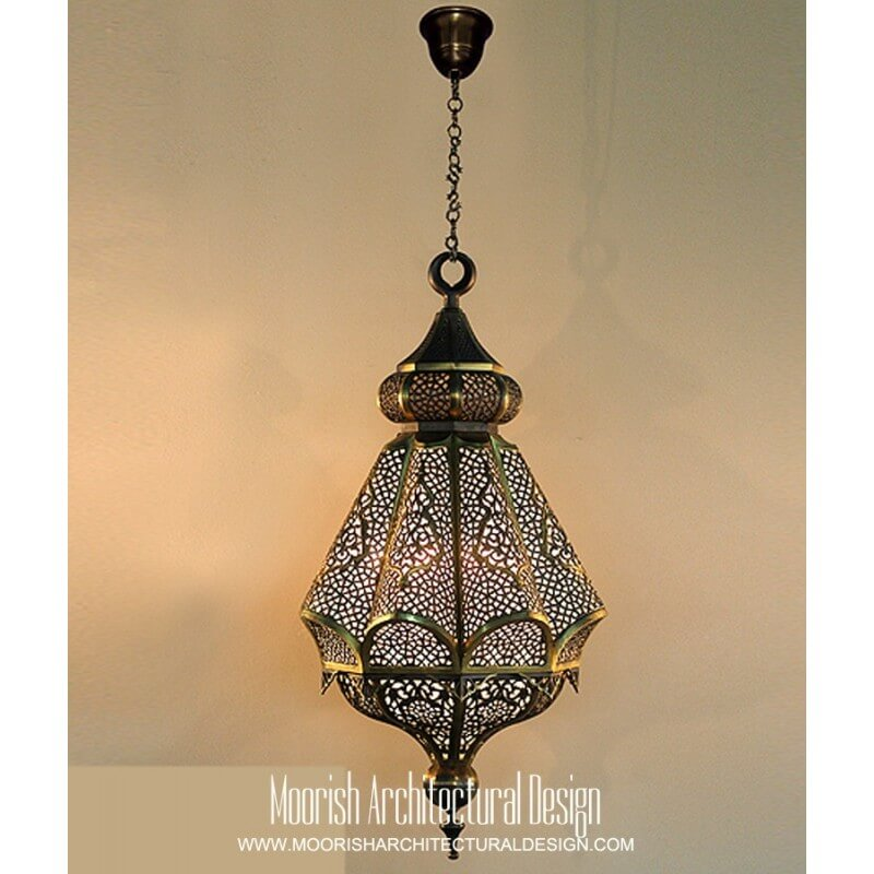 Moorish Kitchen Lighting