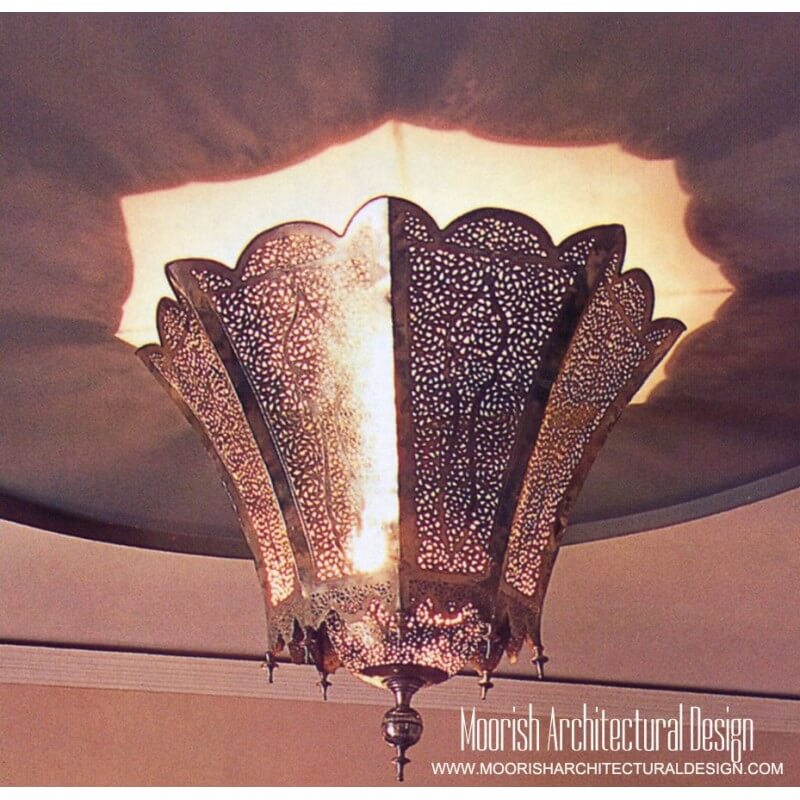 Moorish Living Room Hanging Pendant Light