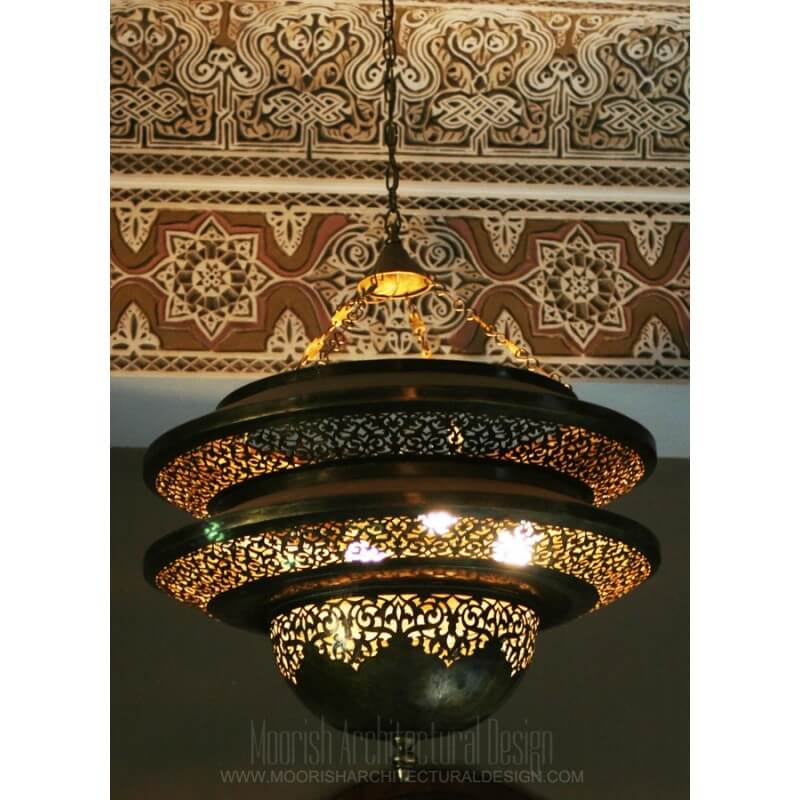 Moorish Living Room Lighting