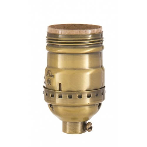 E26 Brass socket