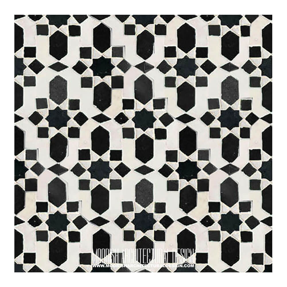 Buy Cheap Moroccan Tiles Black Amp White Moorish Tile