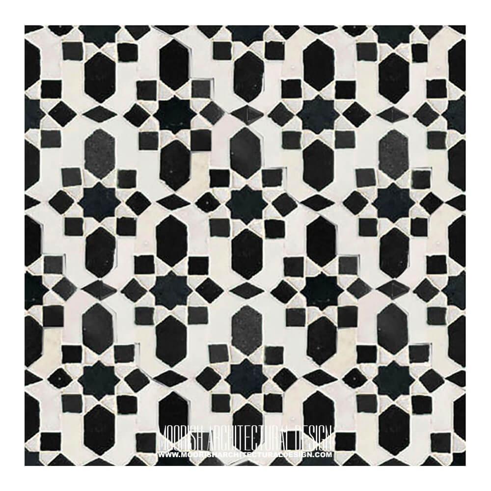 Buy Cheap Moroccan Tiles Black Amp White Moorish Tile