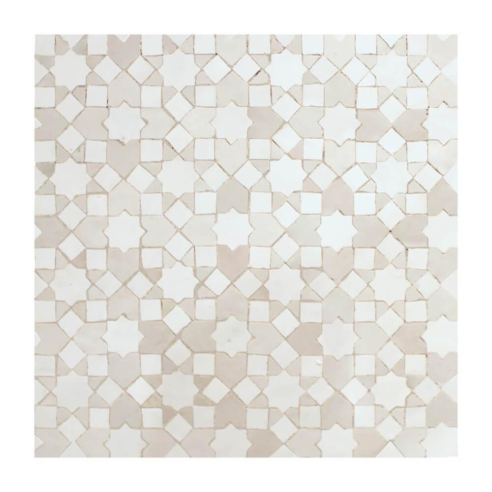 White Moroccan Kitchen Tile White Moorish Tiles