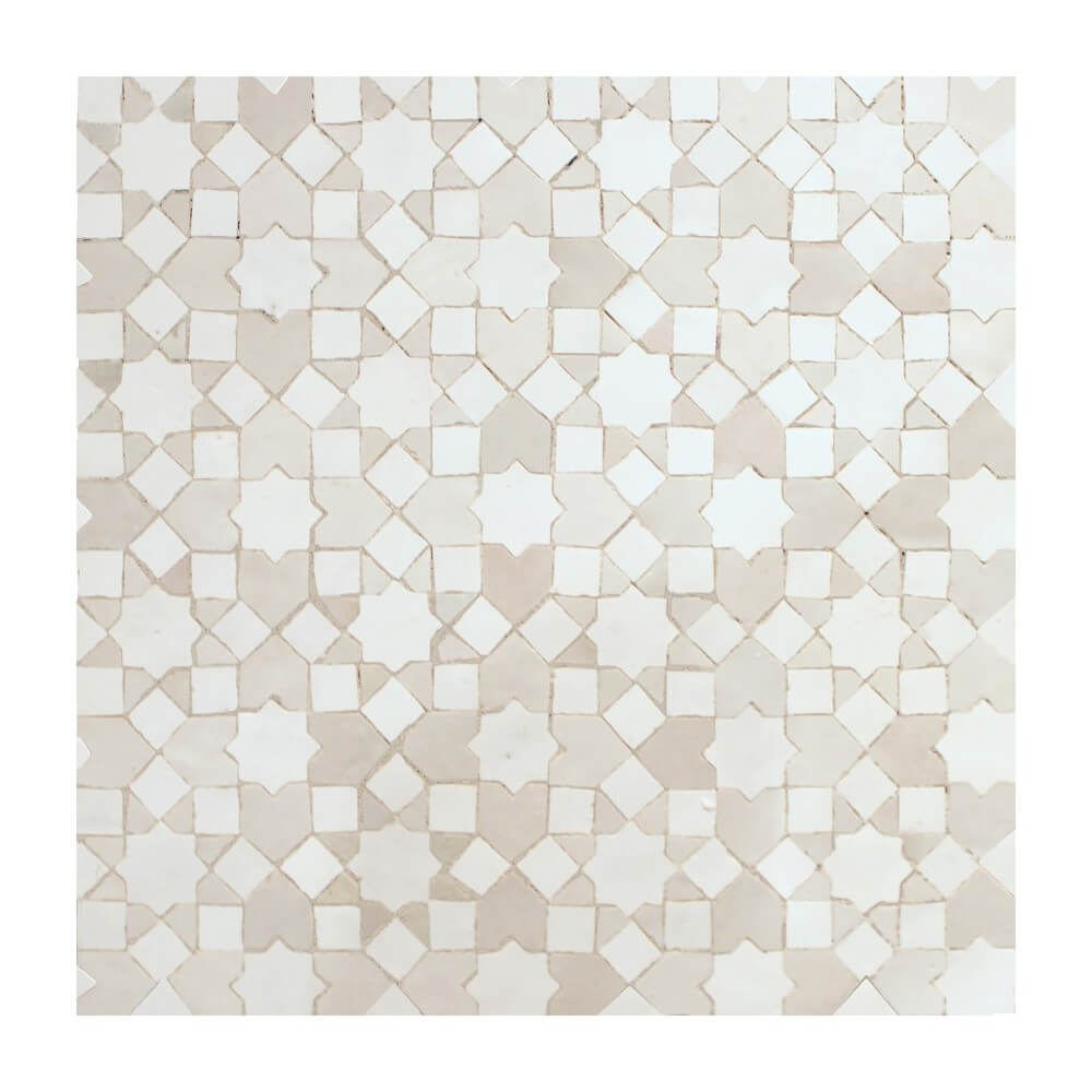 White Moroccan Kitchen Tile White Moorish Tiles