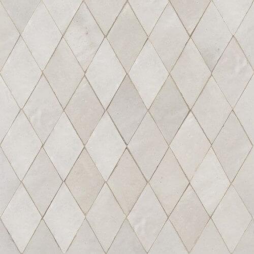 White Moroccan Tile 04