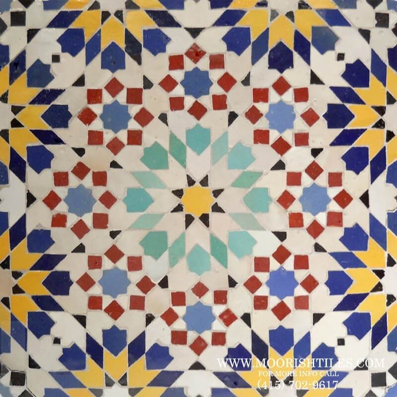 Zellige Moresque Tile Andalusian Tile