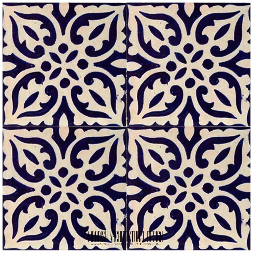 Moroccan Ceramic Tile Kitchen Backsplash