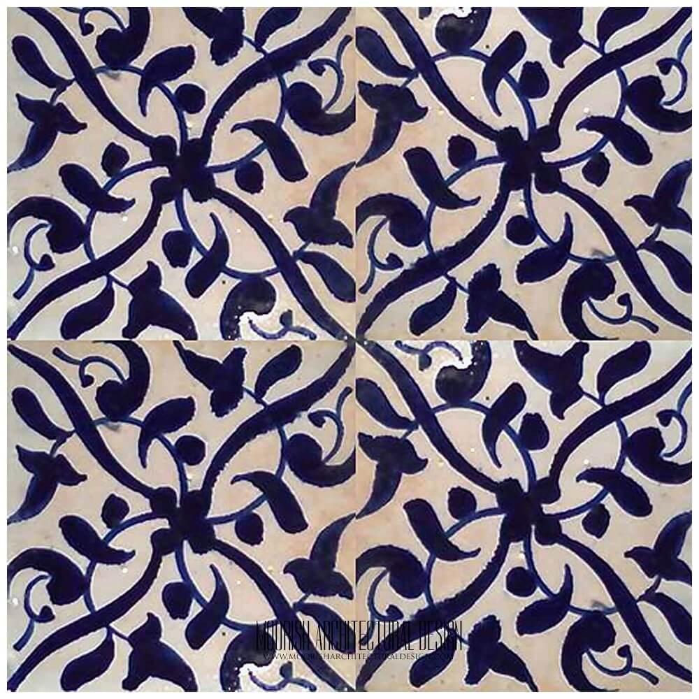 Pool Tile Mediterranean Moroccan Ceramic