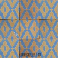 Rustic Spanish kitchen tile Ideas