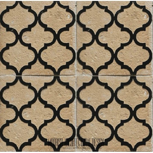 Rustic Moorish Tile 28