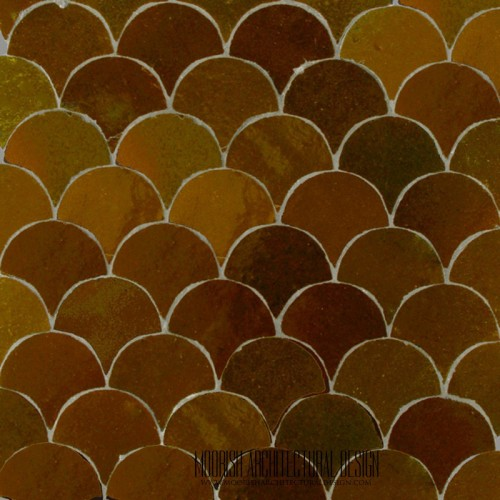 Safran Fish Scales Tile