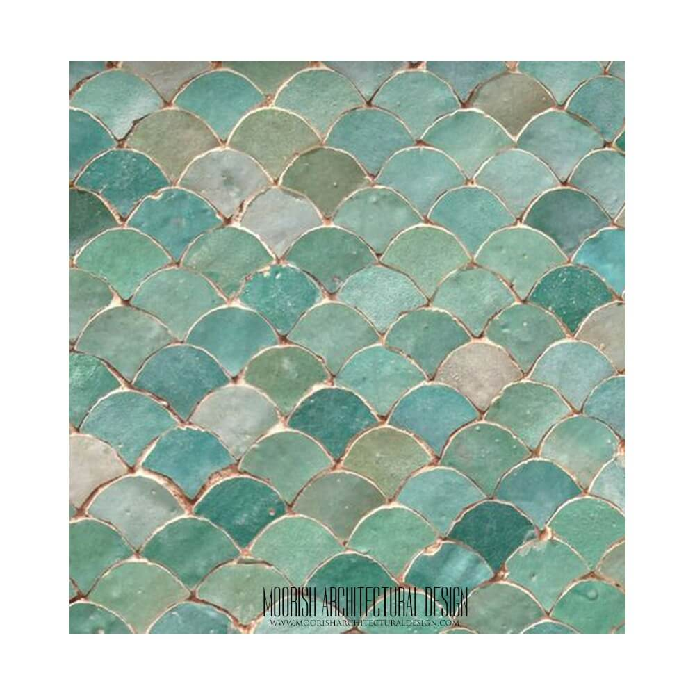 Fish Tiles Kitchen