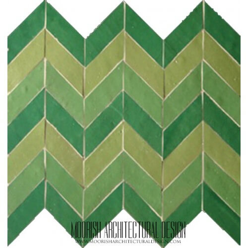 Moroccan herringbone Tile