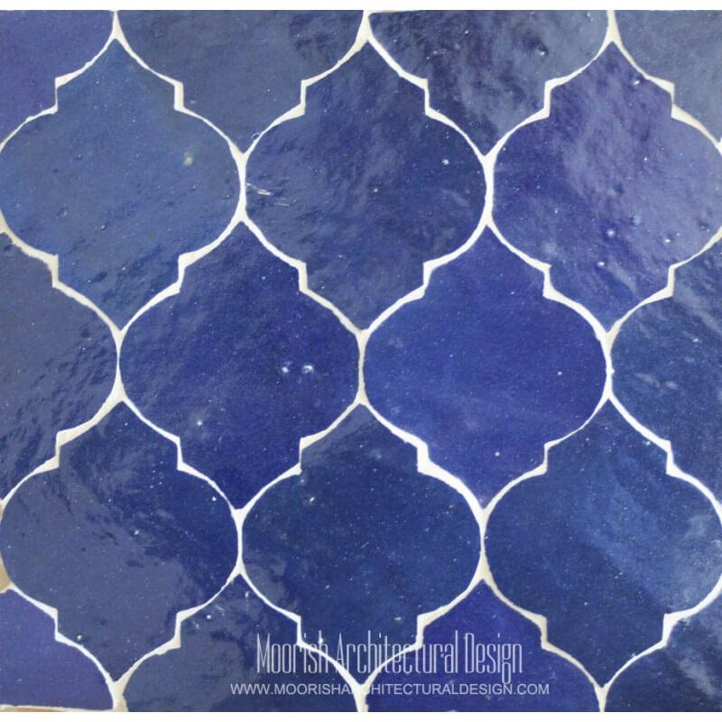 Arabesque Tile bathroom