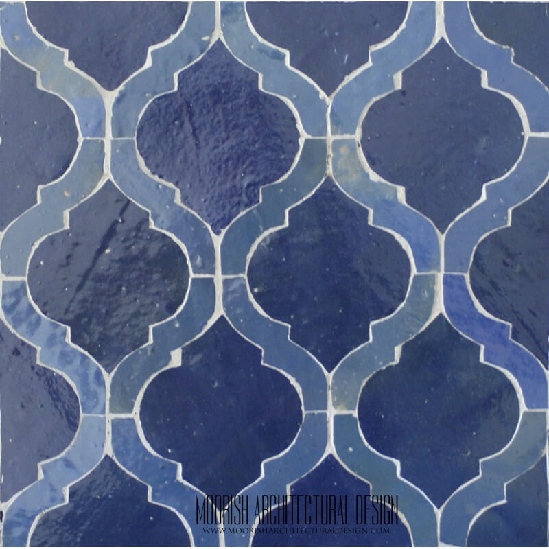 Arabesque Mosaic Tile Moroccan Bathroom Tile