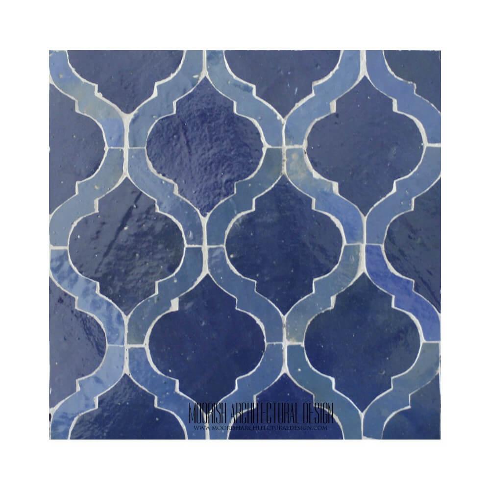 Arabesque Mosaic Tile Moroccan Bathroom Tile