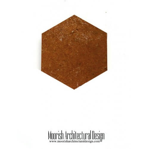 Brown Hex Tile